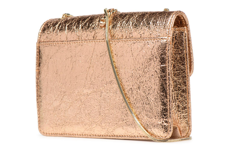 Handtaschen Street Level Shoulder bag w/chain and tassel detail silber ansicht von rechts
