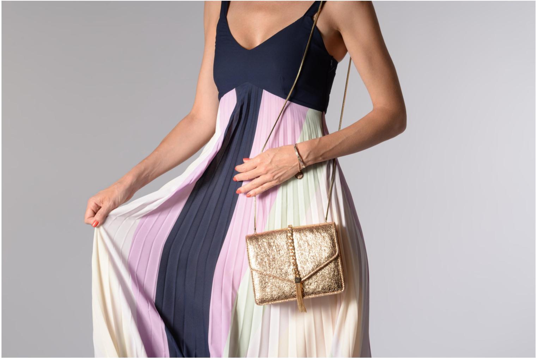 Handtaschen Street Level Shoulder bag w/chain and tassel detail silber ansicht von oben