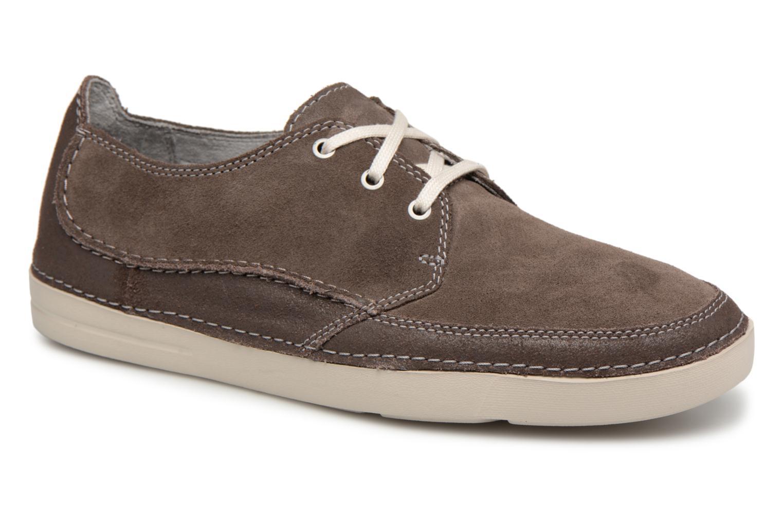 Grandes descuentos últimos zapatos Clarks Gosler Edge (Gris) - Zapatos con cordones Descuento