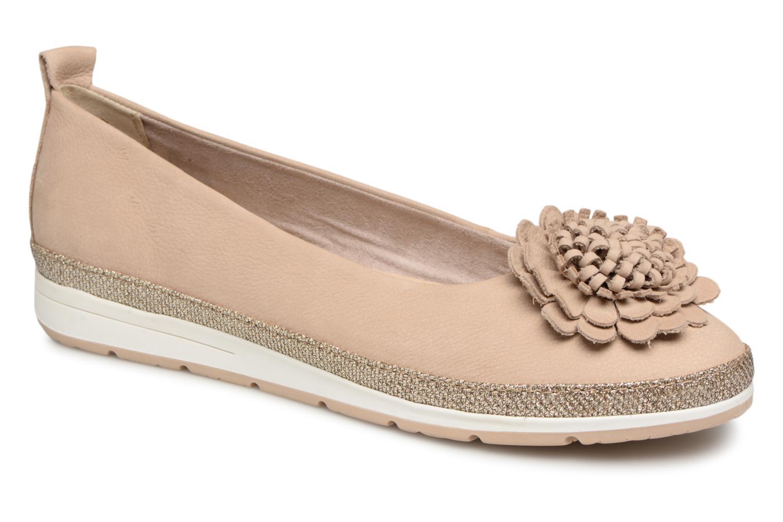 Zapatos de mujer baratos zapatos de mujer Marco Tozzi 2-2-22121-20 404 (Beige) - Bailarinas en Más cómodo
