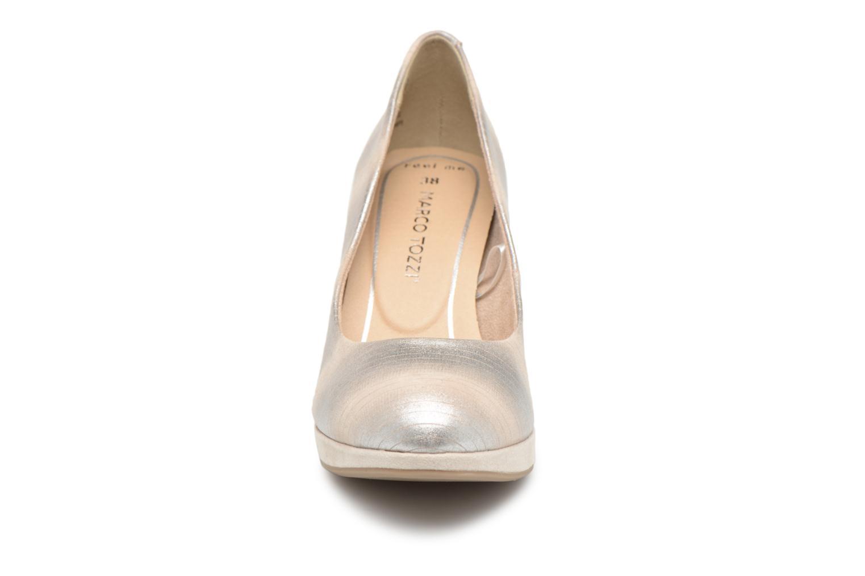 Zapatos promocionales Marco Tozzi 2-2-22417-20 447 (Gris) - Zapatos de tacón   Venta de liquidación de temporada