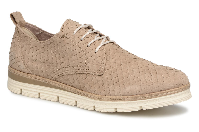 Grandes descuentos últimos zapatos Marco Tozzi 2-2-23725-20 370 (Beige) - Zapatos con cordones Descuento