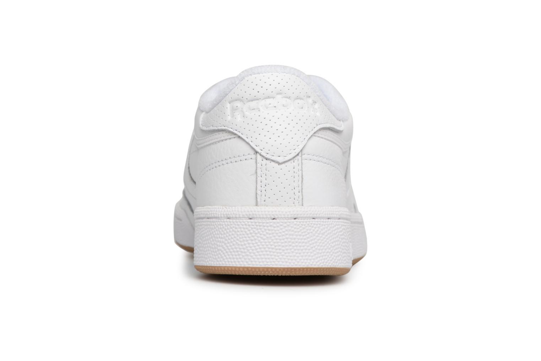 Baskets Reebok Club C 85 Estl M Blanc vue droite