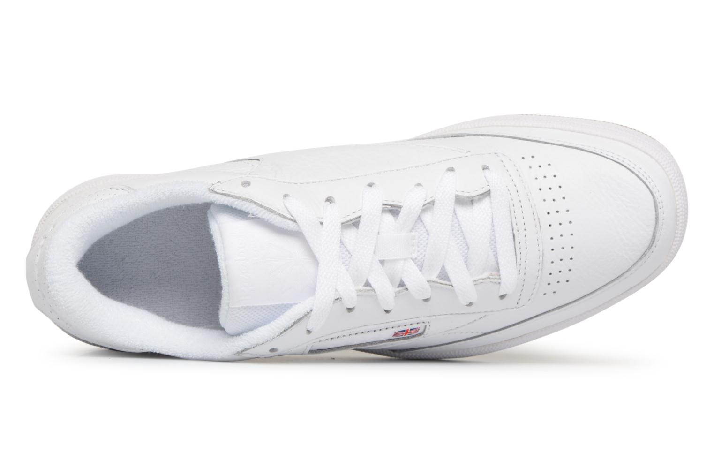 Sneaker Reebok Club C 85 Estl M weiß ansicht von links