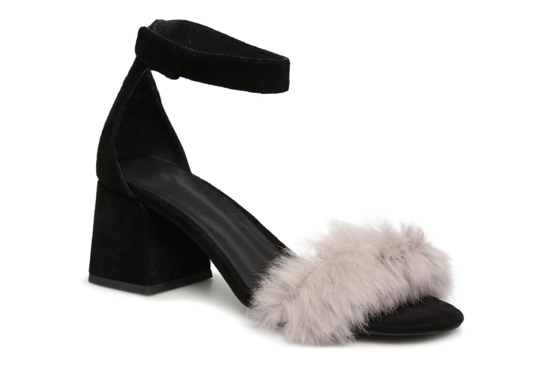 Grandes descuentos últimos zapatos Jeffrey Campbell 421-2 (Negro) - Sandalias Descuento