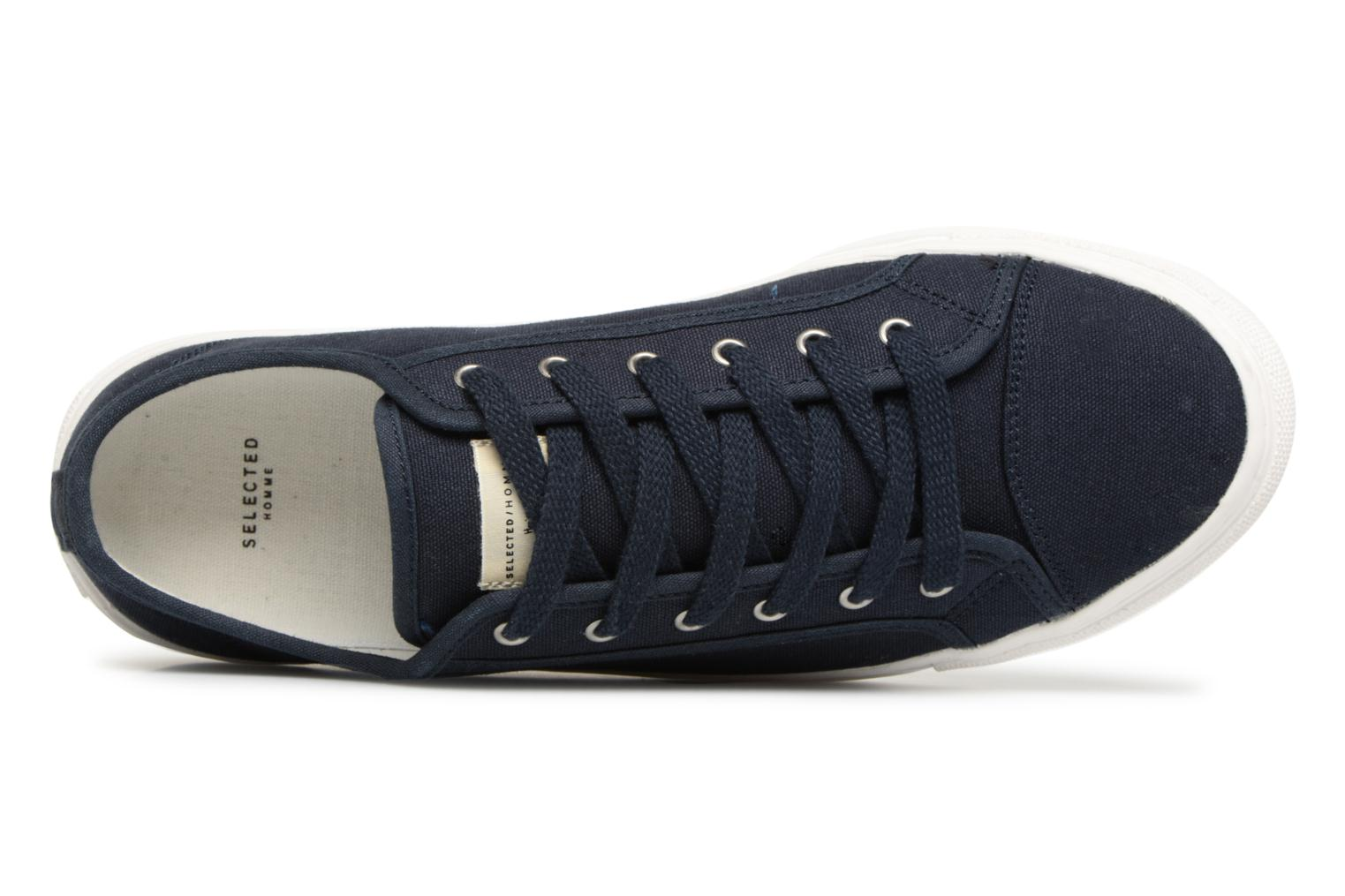 Navy Dark Canvas sneakers Homme Selected q0TBx