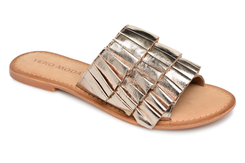 Grandes descuentos últimos zapatos Vero Moda 10196033 (Oro y bronce) - Zuecos Descuento