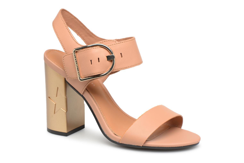 Zapatos promocionales Tommy Hilfiger Sandales à talon Silky Nude (Beige) - Sandalias   Gran descuento