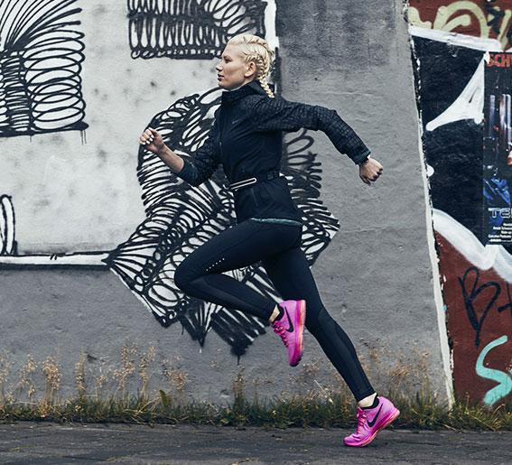 Nike running damesko