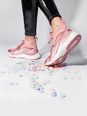 Baskets Saint Valentin