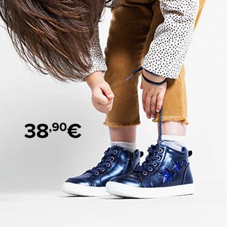 Scarpe con lacci nere I love Shoes bambino