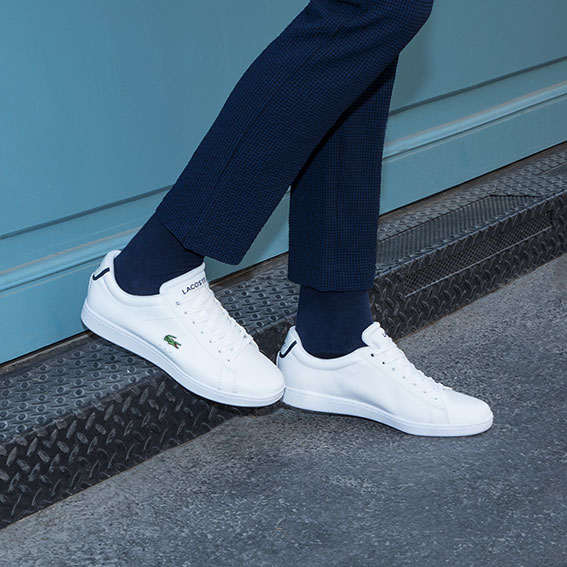 INSPIRATION - WHITE TRAINERS